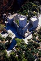 il castello pepoli visto dall'alto  - Erice (4049 clic)