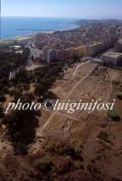 veduta aerea dell'area archeologica  - Gela (6604 clic)