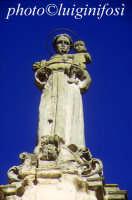 ch. di san antonio, statua del santo  - Giarratana (2503 clic)