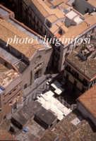 veduta aerea di piazza san francesco  PALERMO Luigi Nifosì