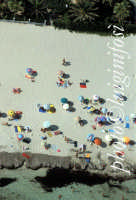 la spiaggia di San Vito vista dall'alto  - San vito lo capo (4431 clic)