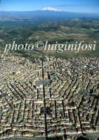 ... veduta aerea dell'esagono e dell'etna   - Grammichele (7992 clic)
