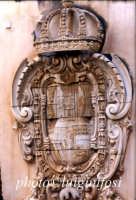 museo Bellomo - stemma della municipalità  - Siracusa (4722 clic)