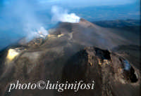 le bocche sommitali del vulcano in attivita'  - Etna (4791 clic)