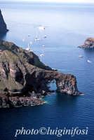 veduta aerea della costa  - Salina (4277 clic)