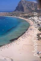 la spiaggia di San Vito lo Capo vista dall'alto  - San vito lo capo (11026 clic)