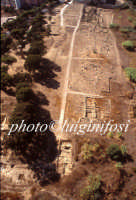 veduta aerea dell'area archeologica  - Gela (4838 clic)