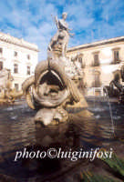 la fontana di artemide in piazza archimede  - Siracusa (1419 clic)