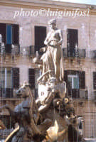 la fontana di artemide in piazza archimede  - Siracusa (1143 clic)