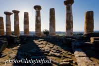 valle dei templi,tempio di ercole  - Agrigento (1971 clic)