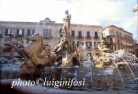 la fontana di artemide in piazza archimede  - Siracusa (1592 clic)