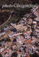il centro urbano in una veduta aerea  - Centuripe (5204 clic)