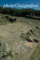 mosaico all'interno di una abitazione  - Morgantina (6091 clic)