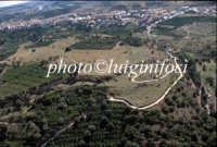 veduta aerea dell'area archeologica di leontinoi  - Leontinoi (4538 clic)