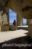 dentro il tempio E  - Selinunte (2567 clic)