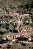 veduta aerea dell'area archeologica di leontinoi  - Leontinoi (5072 clic)