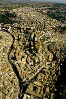 veduta aerea del centro storico  - Modica (4127 clic)
