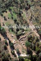 veduta aerea dell'area archeologica di leontinoi  - Leontinoi (5033 clic)