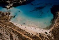 la spiaggia isola dei conigli dall'alto  - Lampedusa (10296 clic)