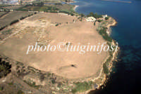 veduta aerea dell'area archeologica di megara hyblea  - Megara hyblea (4870 clic)
