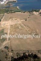 veduta aerea dell'area archeologica di megara hyblea  - Megara hyblea (4583 clic)