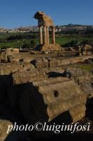 resti del tempio di castore e polluce  - Agrigento (2091 clic)