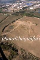 veduta aerea dell'area archeologica di megara hyblea  - Megara hyblea (4722 clic)