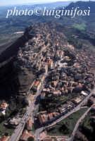 veduta aerea del centro urbano   - Calascibetta (7531 clic)