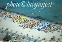 la spiaggia di San Vito lo Capo vista dall'alto  - San vito lo capo (4488 clic)