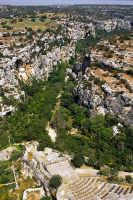 veduta aerea della cava e parco forza  - Ispica (3087 clic)