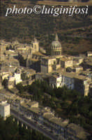 panorama aereo di Ragusa Ibla  - Ragusa (6289 clic)