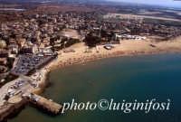 il molo e la spiaggia di marina di modica   - Marina di modica (5407 clic)