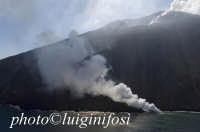 lo stromboli durante una eruzione  - Stromboli (3945 clic)