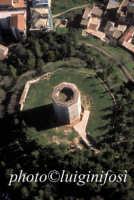 veduta aerea della torre ottagonale di Federico II  - Enna (8281 clic)