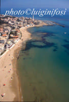 veduta aerea della baia di punta secca  - Punta secca (4983 clic)