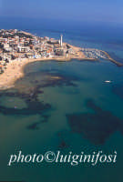veduta aerea baia di punta secca  - Punta secca (9450 clic)