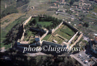 veduta aerea del castello di lombardia  - Enna (7210 clic)