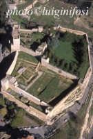 veduta aerea del castello di lombardia  - Enna (5338 clic)