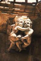 particolare di una mensola di palazzo La Rocca a Ibla  - Ragusa (2356 clic)