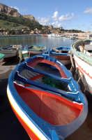 barche in secca nel porticciolo di sferracavallo  - Sferracavallo (3531 clic)