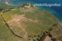 l'impianto urbanistico di megara hyblea visto dall'alto  - Megara hyblea (4789 clic)