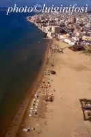 veduta aerea della spiaggia di pozzallo  - Pozzallo (5704 clic)