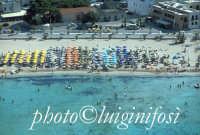 la spiaggia di San Vito lo Capo vista dall'alto  - San vito lo capo (6535 clic)