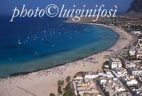 la spiaggia di San Vito lo Capo vista dall'alto  - San vito lo capo (5677 clic)