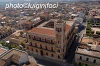 palazzo belmonte visto dall'alto  - Ispica (3584 clic)