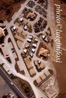 veduta aerea del camping la spiaggetta, a costa di carro  - Sampieri (7489 clic)