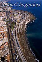 veduta aerea della stazione ferroviaria di catania  - Catania (3777 clic)