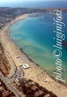 la spiaggia di San Vito lo Capo vista dall'alto  - San vito lo capo (17383 clic)