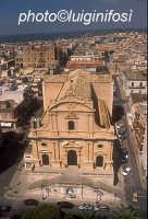 la chiesa madre vista dall'alto  - Ispica (4063 clic)