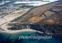 veduta aerea degli scavi archeologici e foce dell'ippari  - Camarina (4904 clic)